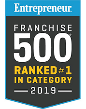 Entrepreneur Franchise ranked #1 in category 2019